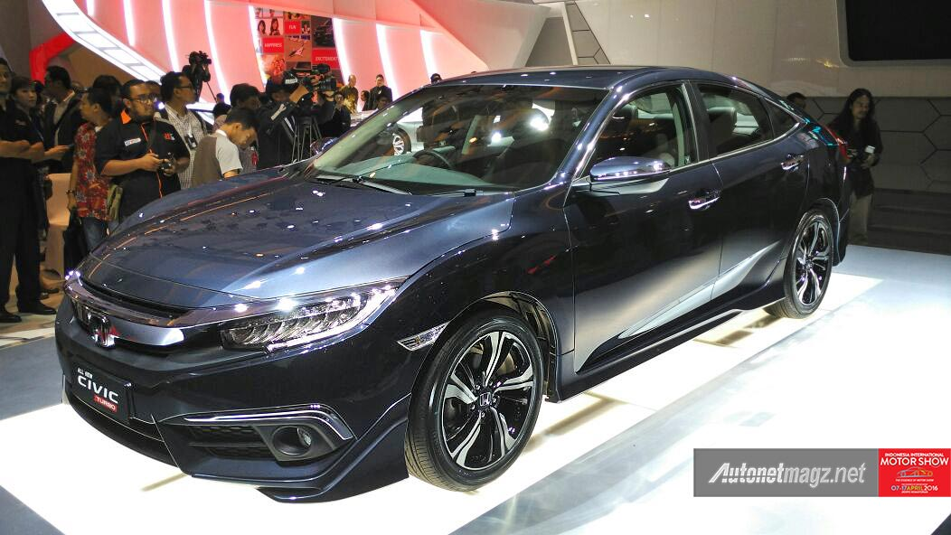 Honda Civic 1.5 Turbo versi Indonesia di IIMS 2016