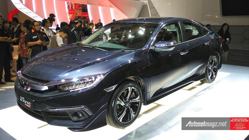 Honda Civic 1.5 Turbo versi Indonesia di IIMS 2016