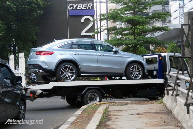 Mercedes Benz GLE Coupe 2016 Indonesia