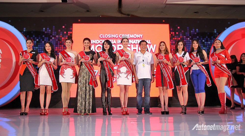 Nasional, Miss IIMS 2016 SPG: Total Transaksi IIMS 2016 Sebesar 2,2 Triliun Rupiah, Bisnis Otomotif Nasional Menggeliat Kembali?