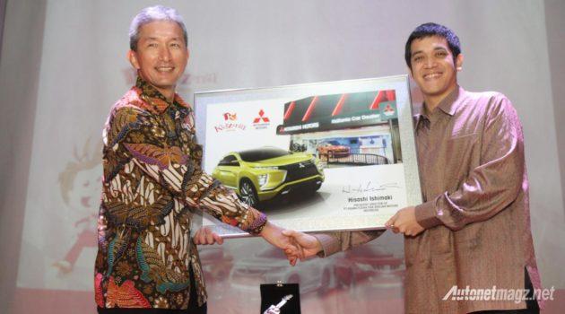 Presdir Mitsubishi Indonesia dan President KidZania Jakarta resmikan wahana tematik otomotif Mitsubishi