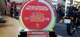 Hasil penjualan mobil IIMS 2016