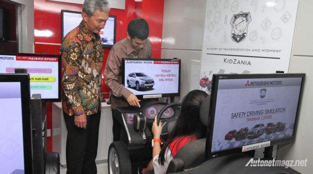 Safety Driving Simulation Mitsubishi di KidZania Jakarta