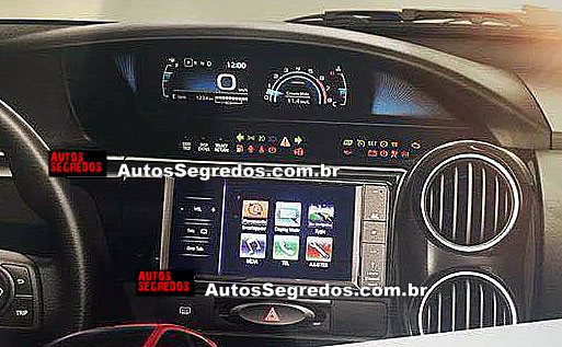 Toyota Etios Facelift 2016 Dashboard