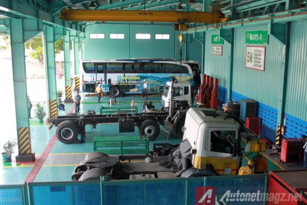 United-Tractor-Scania-Maintenance-Bay