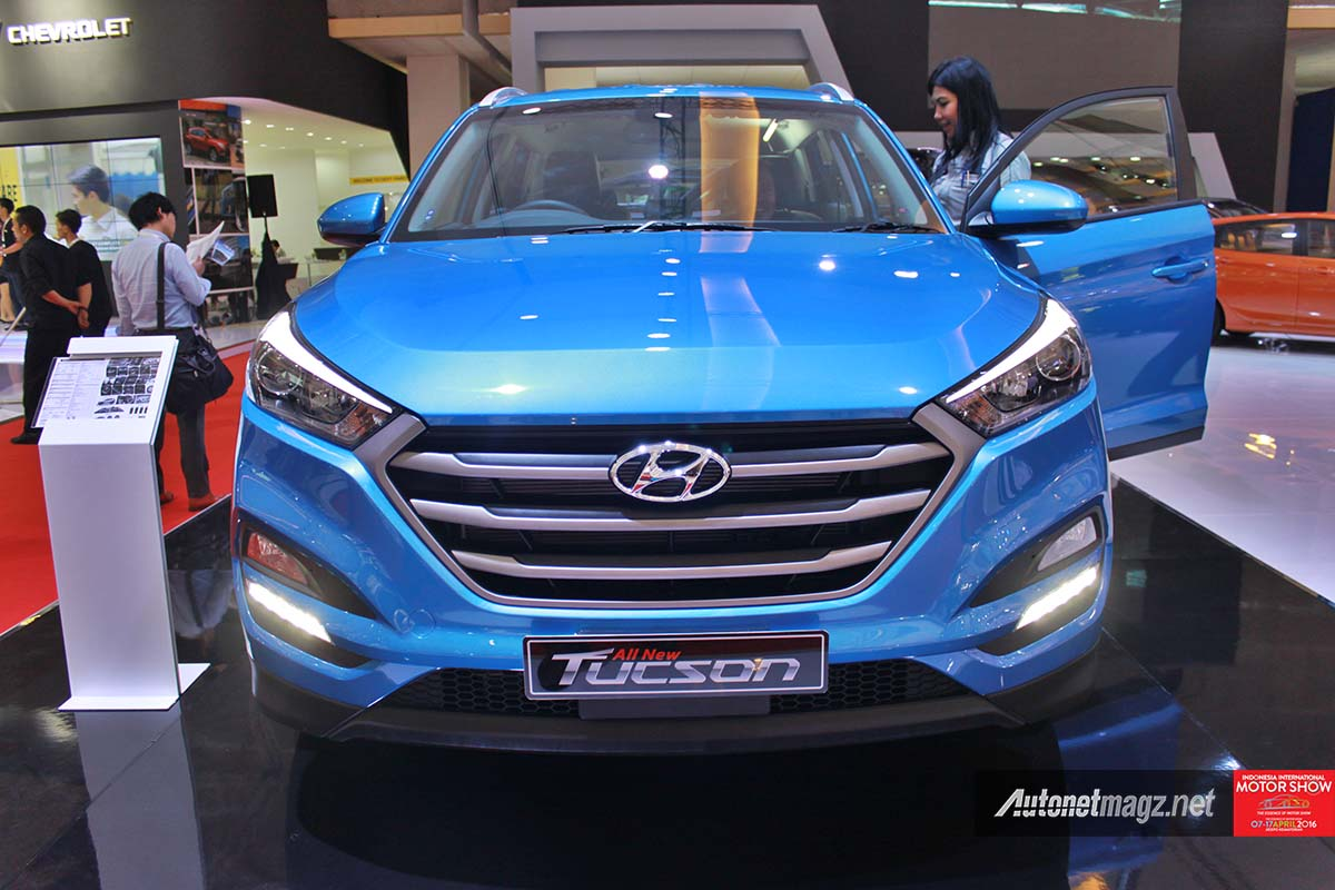 all new hyundai tucson indonesia front