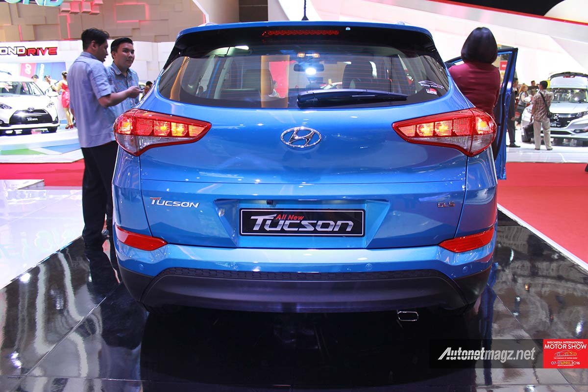 Berita, all new hyundai tucson indonesia rear: First Impression Review Hyundai Tucson 2016 Indonesia