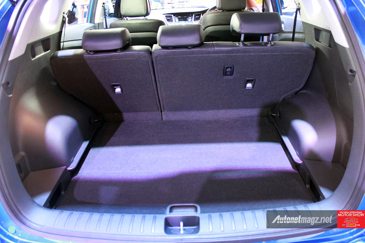 Berita, all new hyundai tucson indonesia trunk space: First Impression Review Hyundai Tucson 2016 Indonesia