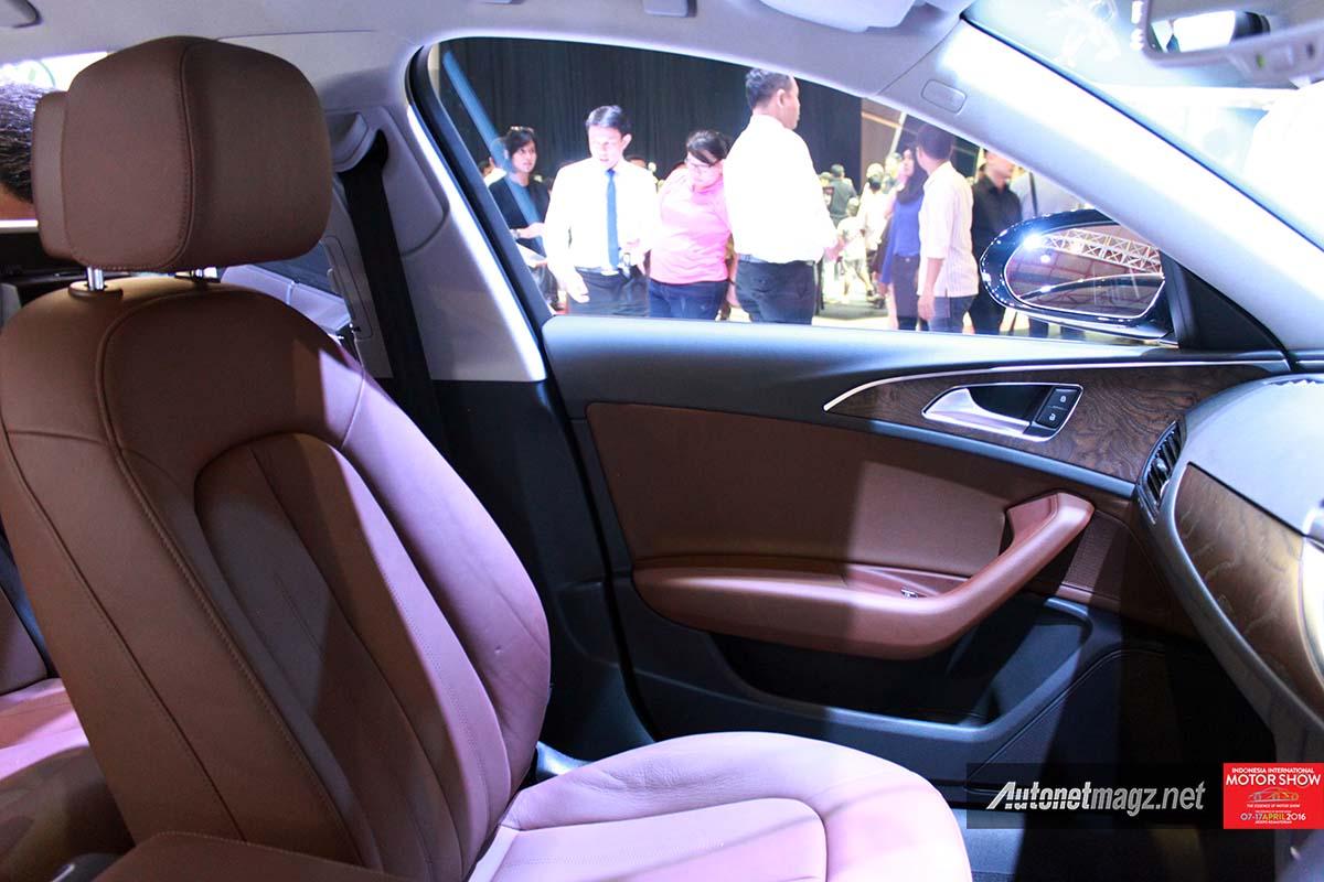 audi a6 PI 2016 front seats