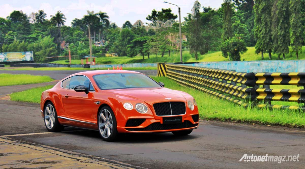 bentley continental gt v8 s sentul circuit