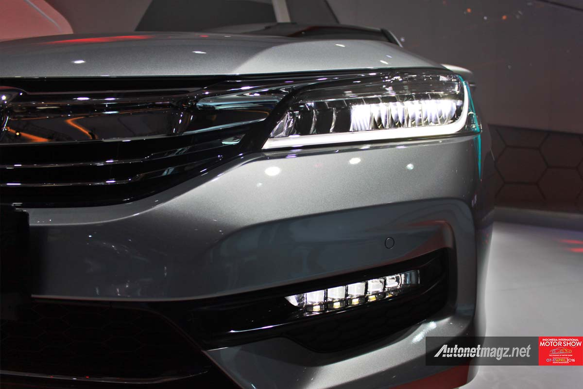 honda accord facelift indonesia iims 2016 headlamp