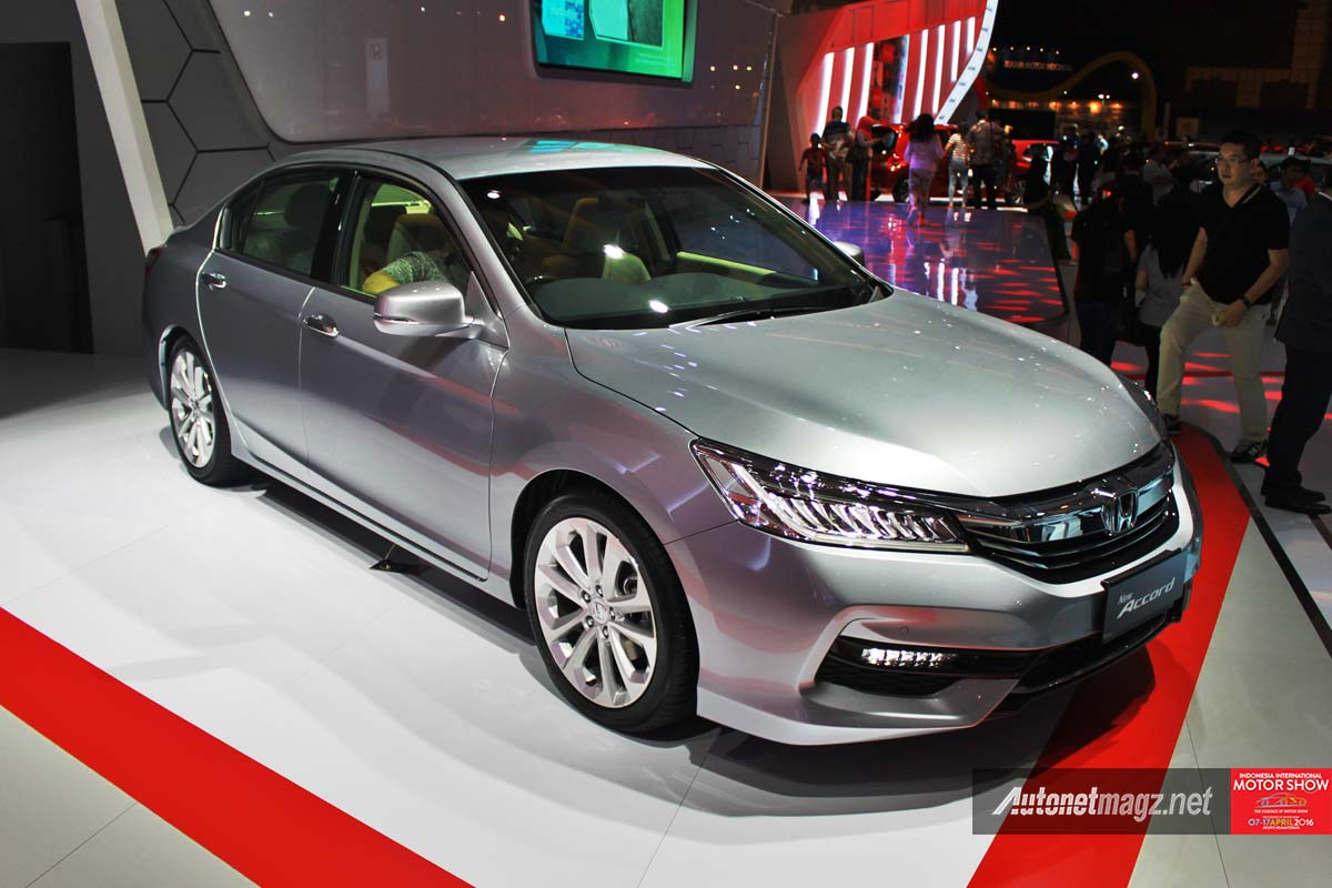 honda accord facelift indonesia iims 2016 photo