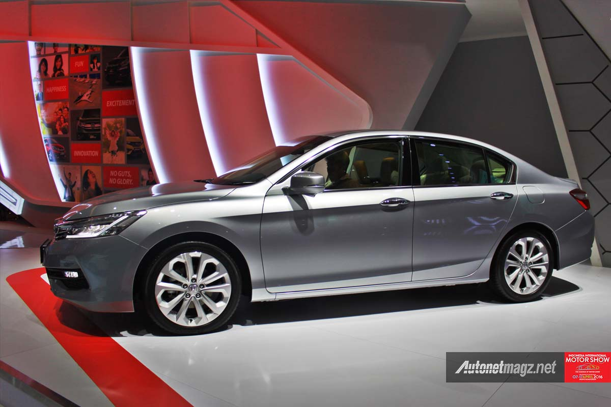 honda accord facelift indonesia iims 2016 side