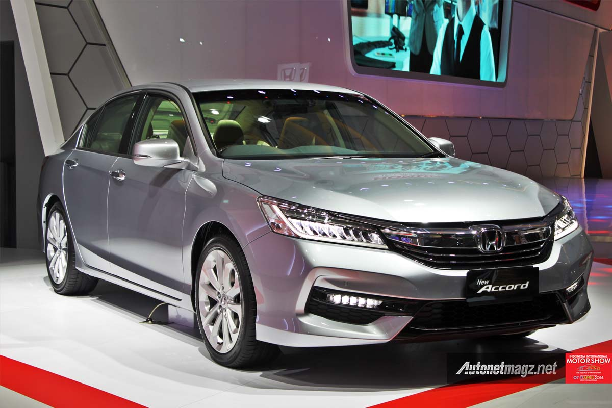 honda accord facelift indonesia iims 2016