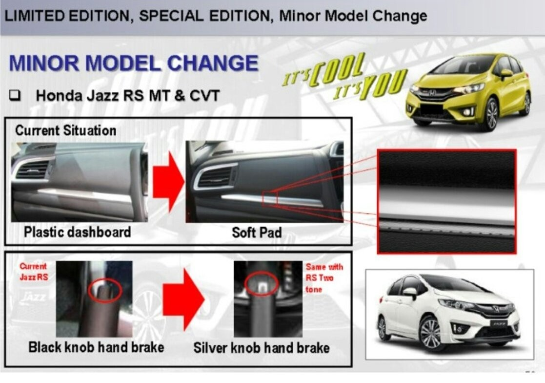 Honda, honda jazz facelift: Bocor, Honda Jazz Dapat Minor Change 2016 Dengan Head Unit Besar!