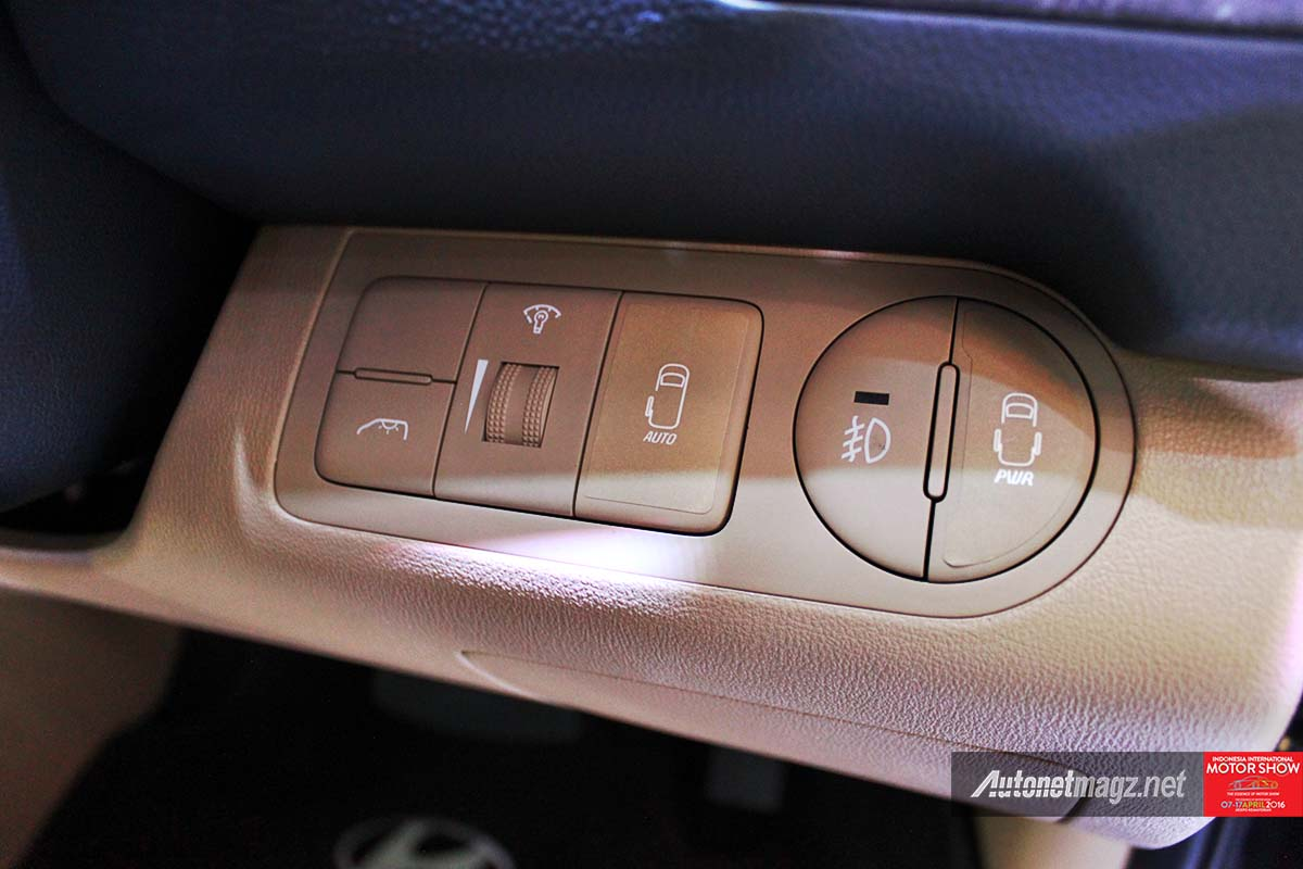 hyundai h1 facelift 2016 silding door button