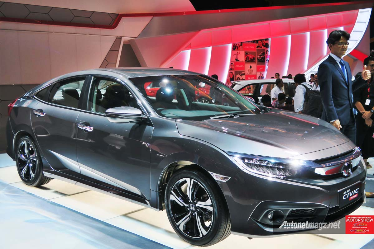 first impression review honda civic turbo indonesia 2016. Black Bedroom Furniture Sets. Home Design Ideas