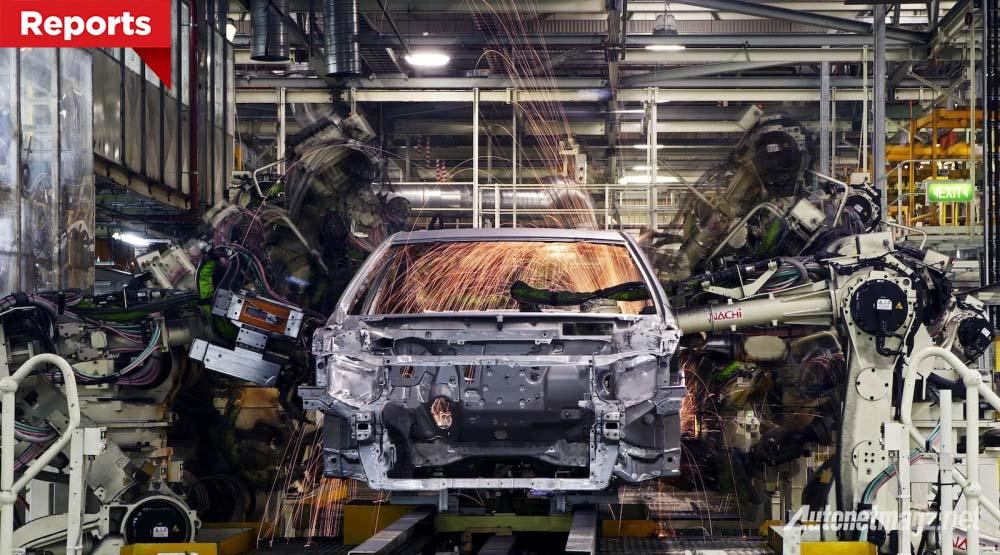 pabrik produksi mobil