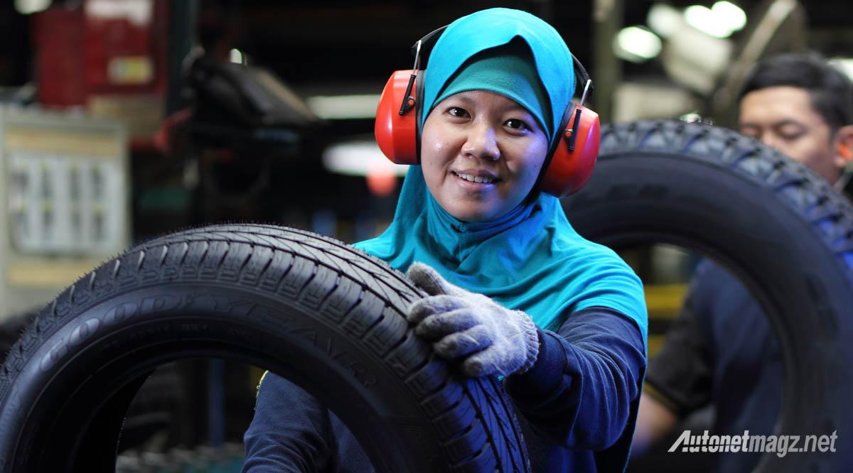 pemeriksaan kualitas ban radial pabrik good year indonesia