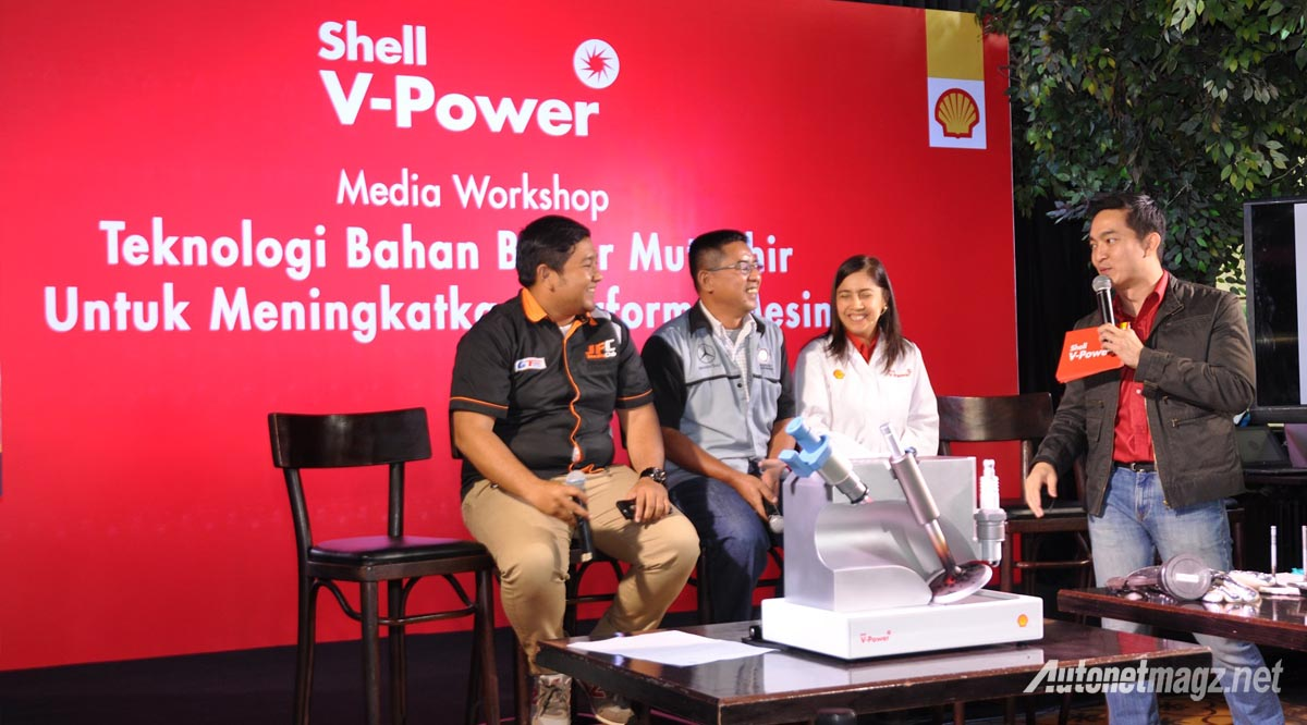 shell v power indonesia workshop