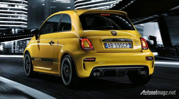 2016-Abarth-595-rear