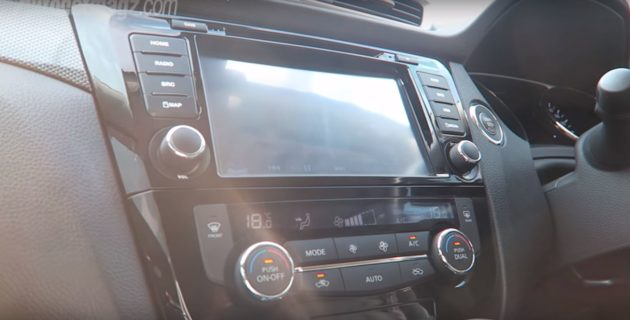 Head Unit Nissan X-Trail