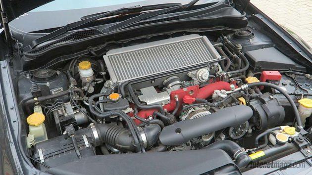 Mesin Subaru WRX STi 2.5 liter Turbocharged