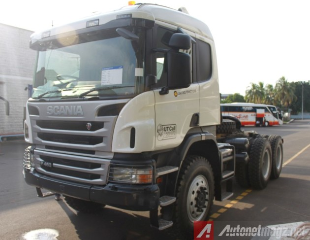 Scania-P460-Front