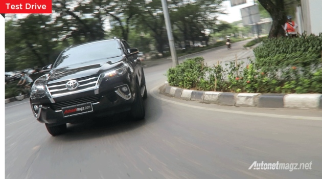 Test drive Toyota Fortuner baru all new 2016 Indonesia