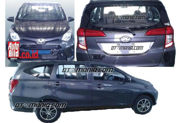 Toyota Calya 7 seater adik avanza