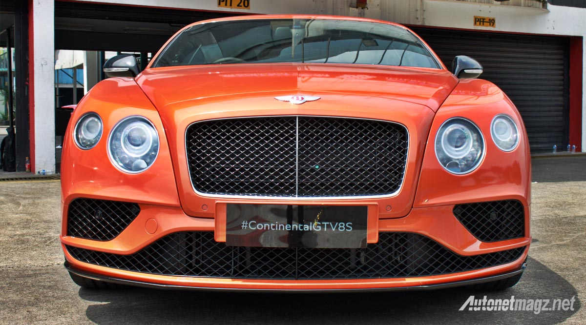 bentley continental gt v8 s face