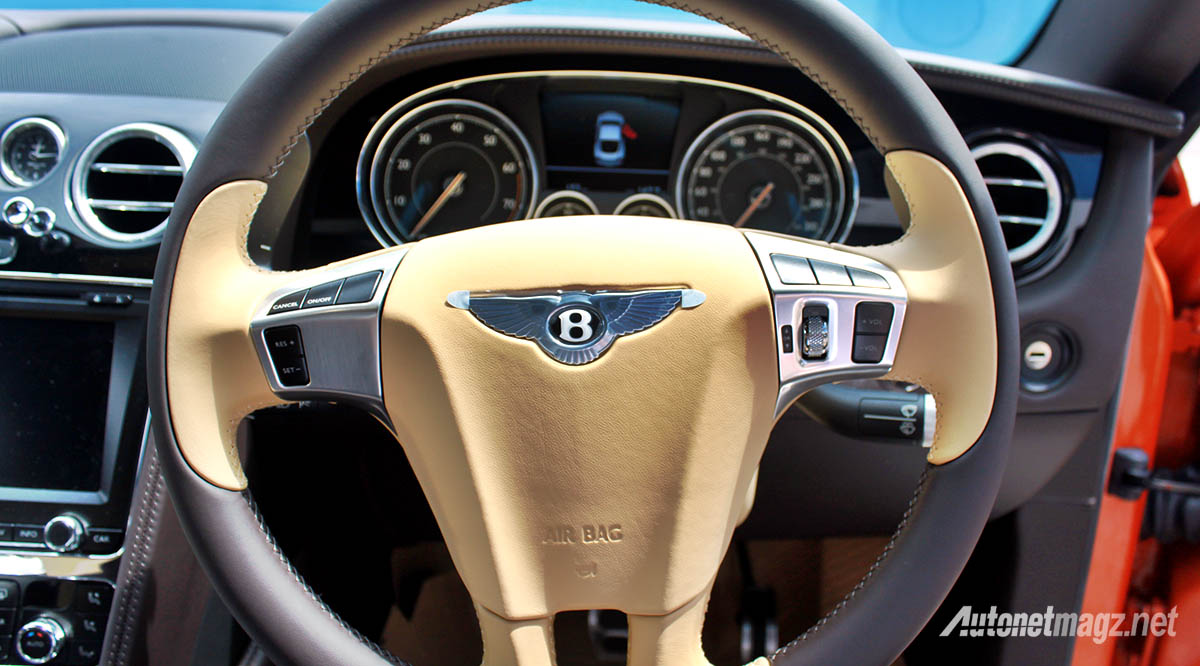 bentley continental gt v8 s steering wheel