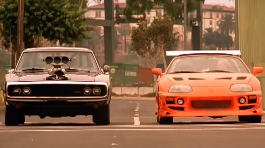 dodge charger vs toyota supra