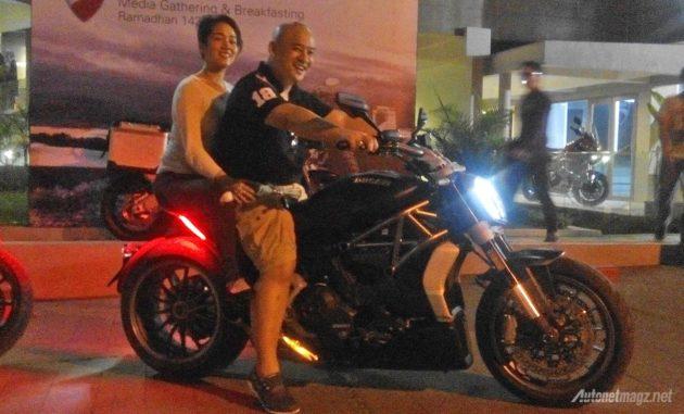 Emmanuel Alvino pembeli pertama Ducati XDiavel di Indonesia