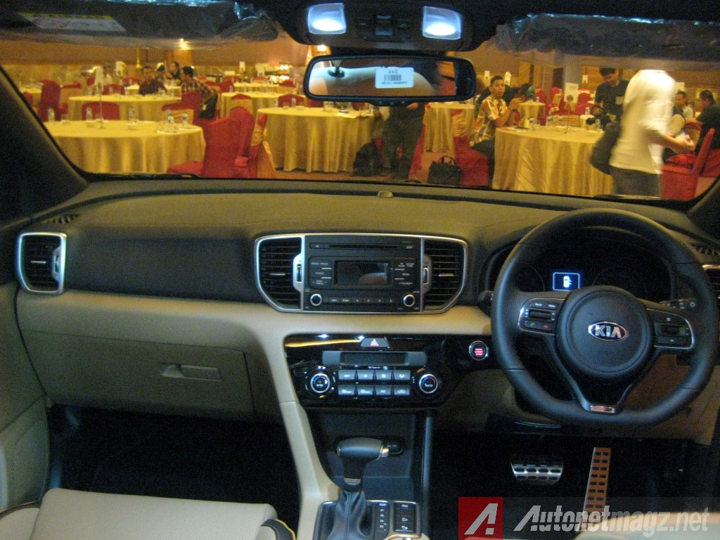Kia Sportage 2017 Interior >> Kia All New Sportage Interior Autonetmagz Review Mobil