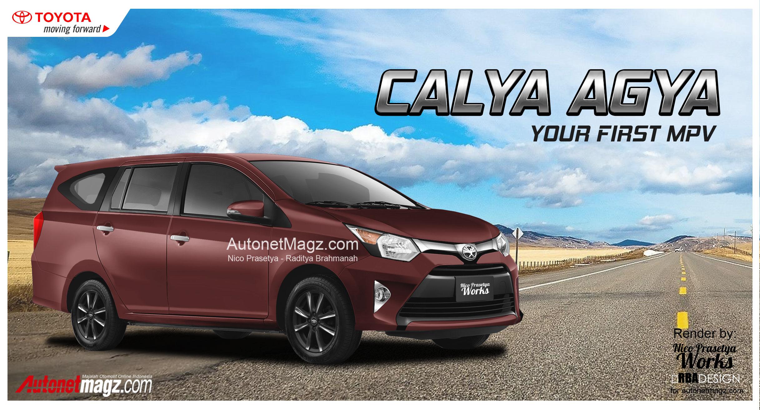Ini Wujud Toyota Calya Agya 7 Seater Pembunuh Datsun Go Autonetmagz
