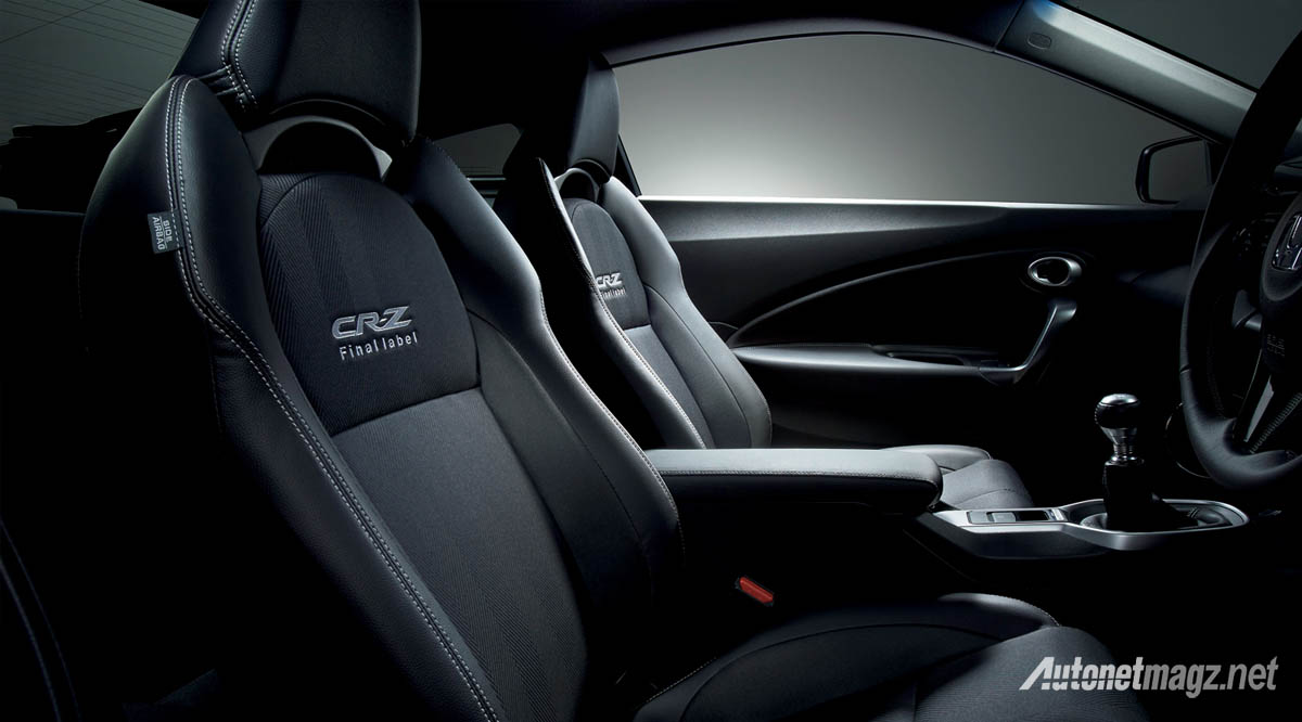 honda cr-z alpha final label interior
