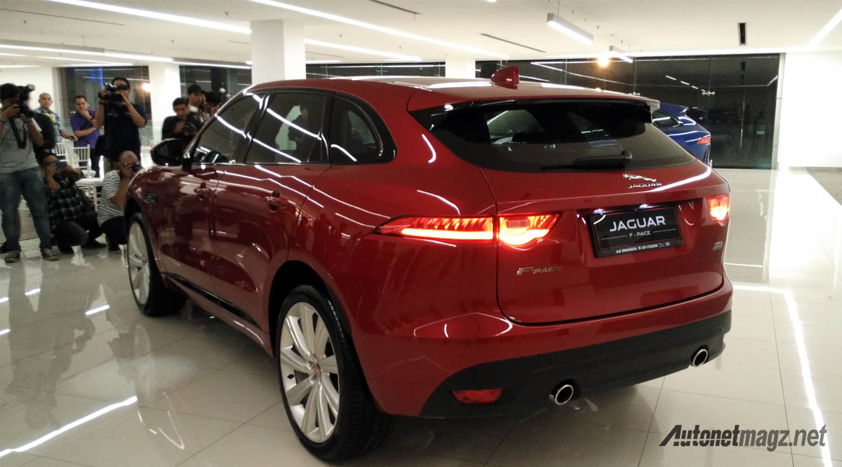 jaguar f-pace r-sport indonesia rear