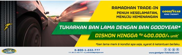 spanduk program goodyear ramadhan trade in