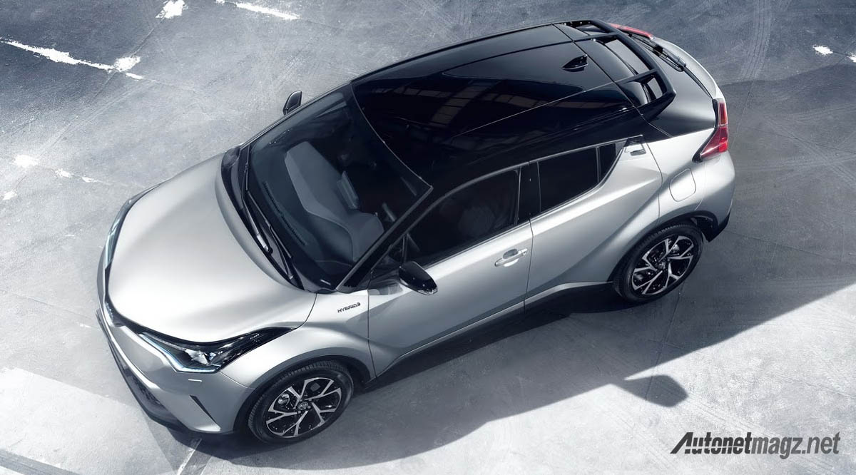 International, toyota c-hr top: Inilah Interior Toyota C-HR, Keren!