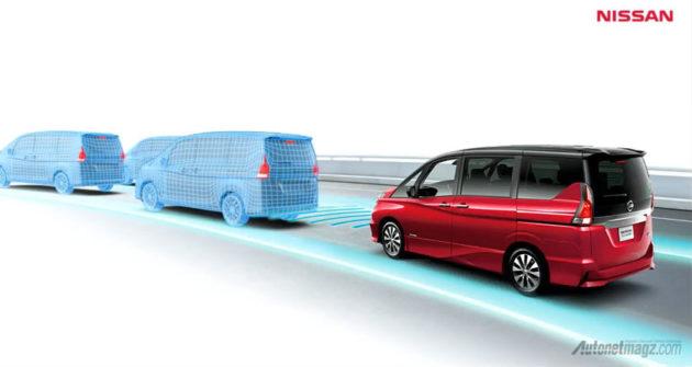 Fitur Nissan Serena baru 2017 ada ProPILOT untuk autonomous driving