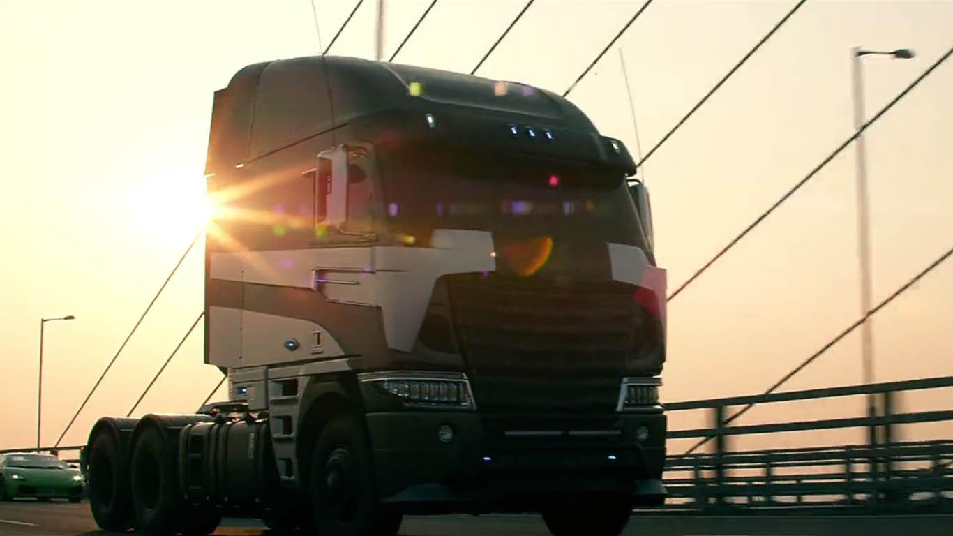 Inilah Onslaught, Karakter Antagonis Baru di Transformers ... Freightliner Argosy Galvatron
