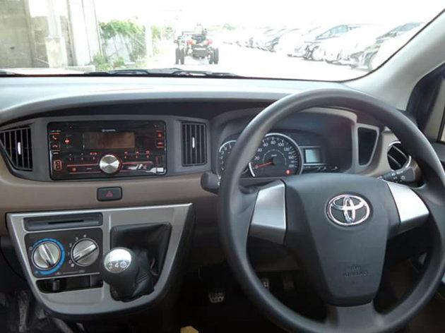 Interior dashboard Toyota Calya Daihatsu Sigra