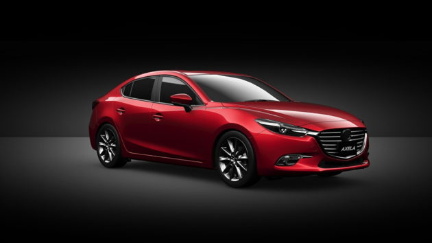 Mazda3 facelift 2017 front design