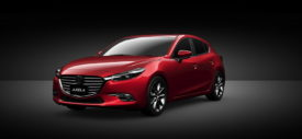 Mazda3 facelift 2017 hatchback