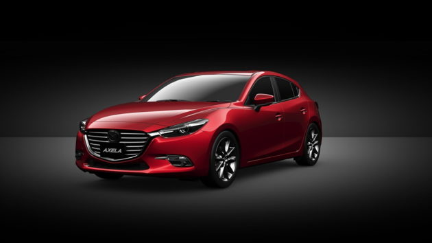Mazda3 facelift 2017 spul red