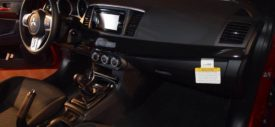 Mitsubishi Lancer Evolution X Final Edition red rear