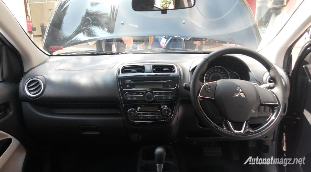 Mitsubishi Mirage facelift interior