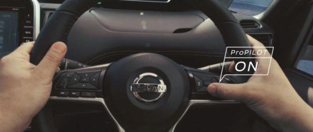 Nissan ProPILOT autonomous drive