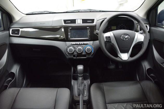 Perodua Bezza Interior